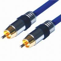 Cheap Digital Audio Coaxial RCA Cables with 125V AC/DC Voltage Rating  for sale