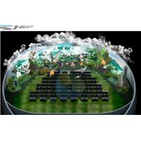 Quality 4D theater with ball screen, arc screen installed arc screen or ball screen wholesale