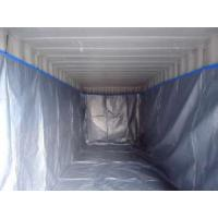 China HDPE fabric dry bulk container liner for packing salted calf and sheep skins on sale
