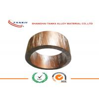 China Strip Soft Bright Shunt Manganin Alloy of Copper and Nickel 1mm * 10mm for Shunt Resistance on sale