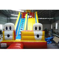 Quality OEM Single lane penguin Inflatable Dry Slides for kids and adults wholesale