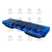 Quality Super Thin Blue Police Light Bars High Brightness Low Power Consumption Long Working Life wholesale
