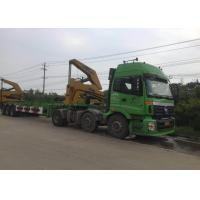 Quality 3 Axle Truck Mounted Crane Container For Transportation Self Loading wholesale