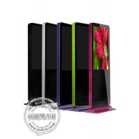 Quality Android system Interactive free standing kiosk Touch Screen / Freestanding Digital Signage wholesale