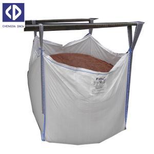 Quality Polypropylene FIBC Bulk Bags Flexible Bulk Container For Sand Stone Silica wholesale