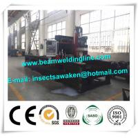 Buy cheap Steel plate drilling machine for box beam production line , steel structure drilling machine product