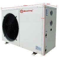 Quality 12KW Electric Air Source Heat Pump Galvanized Steel Sheet Compact Structure wholesale