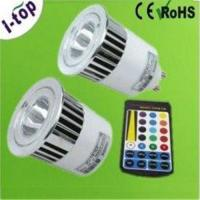 China Indoor 1*5W High Power RGB LED Pin Spot Lamps Replacement Bulbs for Wall Coves MR16 OEM on sale
