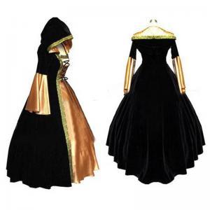 Quality Medieval Dress Wholesale XXS to XXXL Renaissance Medieval Elegant ROCOCO Punk Gothic Gown Ball Dress Cosplay wholesale