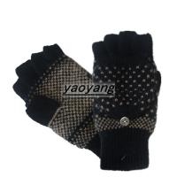 Quality New styles and high quality mens knitted gloves KM015 wholesale