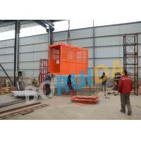 Cheap Custom Twin Cage SC200 Goods Construction material Lifting Hoist 0 - 60 m / min for sale