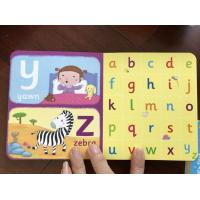 Quality hard board books Children's Board Book Printing board books for 2 year's olds wholesale