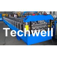 Quality Standard 686mm IBR Sheet Roll Forming Machine With PLC Control System wholesale
