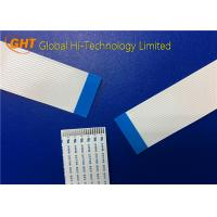 High Precision 20 Pin Flat Flexible Cables Pitch 1.25mm With Tin Plating
