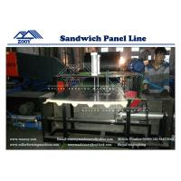 Quality Customized PU Sandwich Panel Roll Forming Machine With Flying saw cutting wholesale