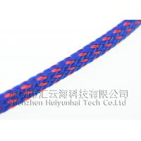 Quality PET Multifilament Heat Shrinkable Braided Sleeving Lightweight High Strength wholesale