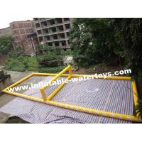 Quality Seaside 0.9mm PVC Tarpaulin Inflatable Volleyball playground for sale