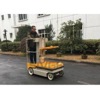 Buy cheap 5.1m Working Height Self Propelled Electric Ne Man Scissor Lift For Cargo Handling from wholesalers