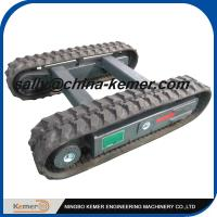 Quality 3 Ton Rubber Track Chassis /  Track Chassis 3 tons / Small  Rubber Track Chassis wholesale