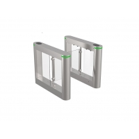 Buy cheap 240V Pedestrian Swing Barrier Turnstile Gate For Security Entrance Control from wholesalers