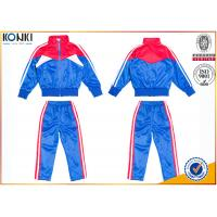 Quality New school uniform design blue and red color 100% polyester custom school uniform for teachers and students wholesale