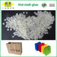 Quality White Resin Hot Melt Adhesive Pellets For Paper Hand Bag Bottom Sealing With MSDS wholesale