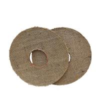 Quality 14 inches Oil Sisal Buff - Hexagonal-hole - buffing wheels - polishing wheels wholesale