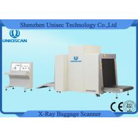 Quality Dual View Baggage Screening Security Scanners / Xray Baggage Inspection System wholesale