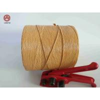 Quality Breaking Strength Braided Twisted 100% Polypropylene Twine / Pp Rope For Packing wholesale