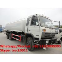 Quality 2018s high quality and best price dongfeng 6*4 RHD 20,000L cistern water tank truck for sale, portable water tank truck wholesale