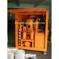 Quality High Efficiency Insulation Oil Purifier,Transformer Oil Dehydration,Oil Purification wholesale