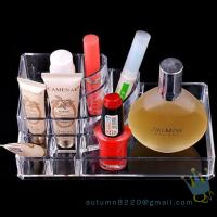 Quality acrylic cosmetic display organizer wholesale