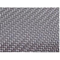 Quality 100mesh to 500mesh Stainless Steel Twill Woven Wire Mesh/Fabric, AISI 304L, 316L wholesale