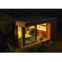 China Small Kit Mobile Light Steel Home Garden Studio Prefabricated 20sqm Size on sale
