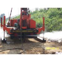 Cheap Full Hydraulic Jet Grouting Drilling Rig vice winch and electrical control power head for sale
