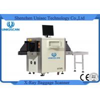 Cheap Dual Energy High Load Harbour X Ray Machine For Baggage At Airport Security for sale