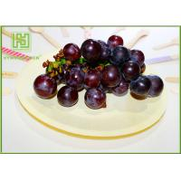 Quality Natural Color Wooden Dinner Plates , Eco Friendly Wooden Party Plates For Pizza wholesale