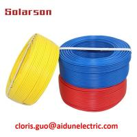 China Solar Earth Cable Grounding Wire Solar Energy Cable on sale