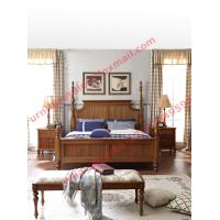 Quality Louis-Philippe de France Style King Bed with Wardrobe in Bedroom Furniture sets wholesale