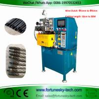 Quality Fully Automatic Wire Clutch Cutting Sealing Machine Cut To Length 10cm-30M  Diameter 1MM to 5MM Wire Head Not Scattered wholesale