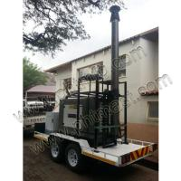 Quality Trailer Mounted 18m non-lockable pneumatic telescopic masts-80106180 wholesale