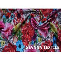 Quality Wefting Knit Recycled Swimwear Fabric Super Stretch Fiber Screen Printing wholesale