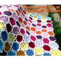 Quality Crochet Vintage Throw Blankets Hand-Woven Bedspread Bedcover Home Decorate Bed/sofa Blanke wholesale