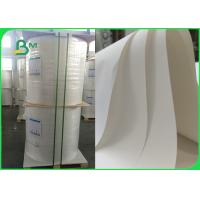 China Coated WWaterproof Stone Paper 300um White Synthetic Stone paper for hang tags on sale