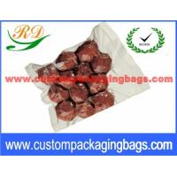 China Transparent NY / PE Material Vacuum Sealing Bags With Hot Seal on sale
