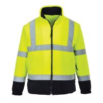 Quality Hi Vis Fleece Workwear Reflective Safety Jacket wholesale