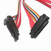 China SATA Cables with 7 or 15 Pins, Customized Requirements are Accepted, Suitable for Computer on sale
