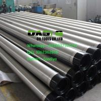Quality 304L welding ring  V-shape Slot Johnson Water Well Screens China Manufacturer wholesale