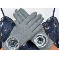 Quality Warm Super Soft Phone Friendly Gloves , Texting Winter Gloves With Smart Touch  wholesale