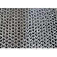 Buy cheap Custom Size Perforated Metal Mesh 40% - 81% Filter 304 /316 Stainless Steel from wholesalers